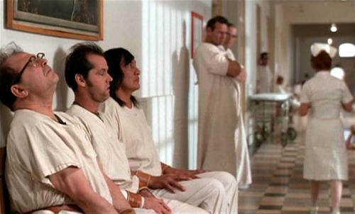 oppression in cuckoos nest Among the astonishing outburst of new american cinema in the 1970s, milos forman's multi-oscar-winning one flew over the cuckoo's nest offered most japan.